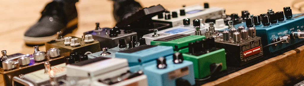 Effect Pedals + Processors